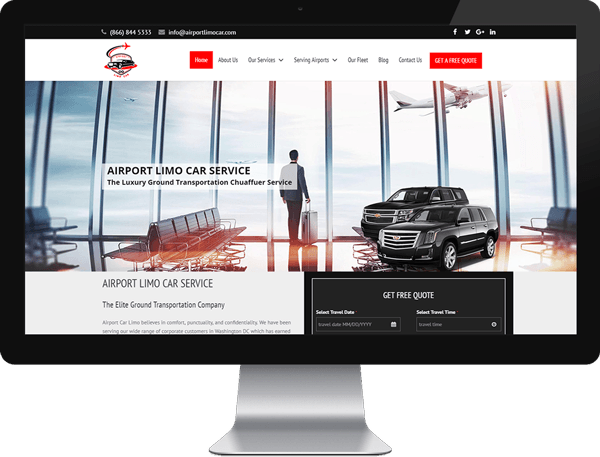 Airportlimocar Website After